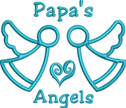 Papas Angels embroidery design