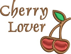 Cherry Lover embroidery design