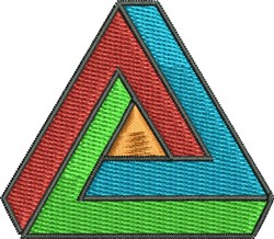 Triangle Pattern embroidery design