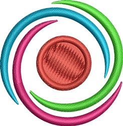 Circle In Circle embroidery design