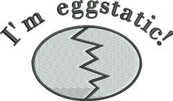 Im Eggstatic embroidery design