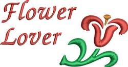 Flower  Lover embroidery design