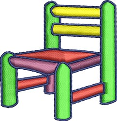 Kids Chair embroidery design