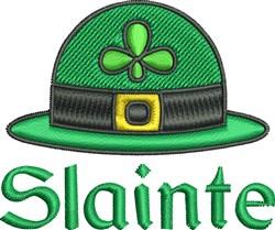 Slainte Hat embroidery design