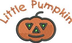 Little Pumpkin embroidery design
