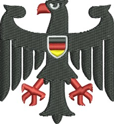 German Coat Of Arms embroidery design