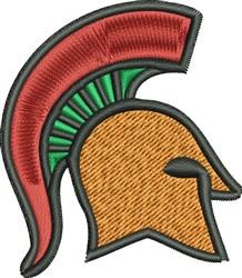Gladiator Head embroidery design