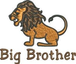 Big Brother embroidery design