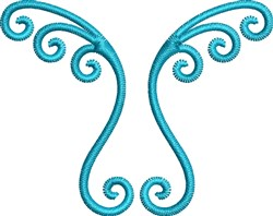 Decoration Scroll embroidery design