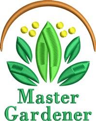 Master Gardener embroidery design