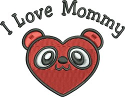 Beary Heart embroidery design