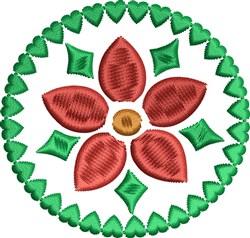 Christmas Blossom embroidery design