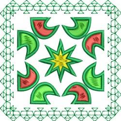 Rectangle Decor embroidery design
