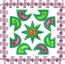 Square Decor embroidery design