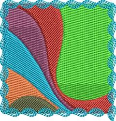 Colorful Square embroidery design
