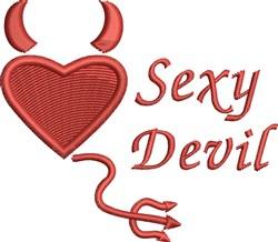 Sexy Devil embroidery design