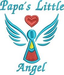 Papas Angel embroidery design