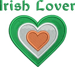 Irish Lover embroidery design