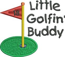 Little Golfin Buddy embroidery design