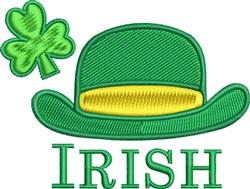 Irish Leprechaun Hat embroidery design