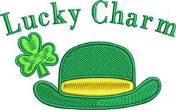 Lucky Charm Leprechaun Hat embroidery design