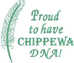 Native American Chippewa Pride embroidery design