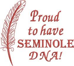 Native American Seminole Pride embroidery design