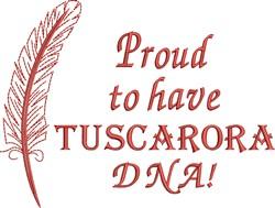 Native American Tuscarora Pride embroidery design