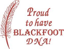 Native American Blackfoot Pride embroidery design
