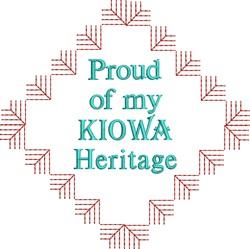 Native American Kiowa Pride embroidery design