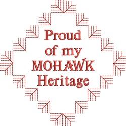 Native American Mohawk Pride embroidery design