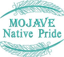 Native American Mojave Pride embroidery design