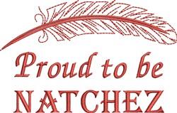 Native American Natchez Pride embroidery design