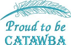 Native American Catawba Pride embroidery design