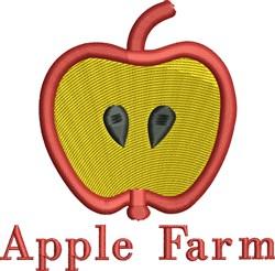 Apple Farm embroidery design