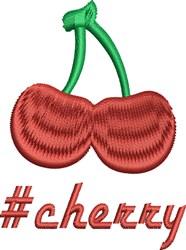 #Cherry embroidery design