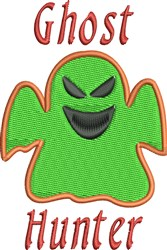 Ghost Hunter embroidery design