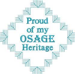 Osage Heritage embroidery design