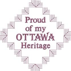 Ottawa Heritage embroidery design