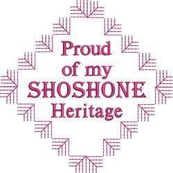 Shoshone Heritage embroidery design