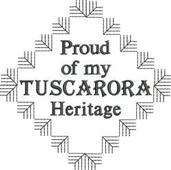 Tuscarora Heritage embroidery design