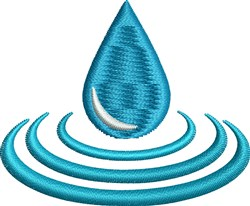 Water Ripples embroidery design