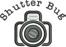 Shutter Bug embroidery design