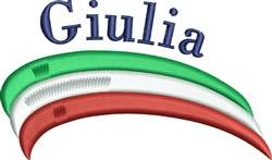 Giulia embroidery design