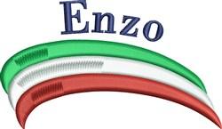 Enzo embroidery design