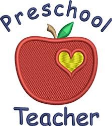 Preschool Teacher embroidery design
