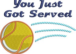 Got Served embroidery design