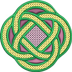 Celtic Marriage Knot embroidery design