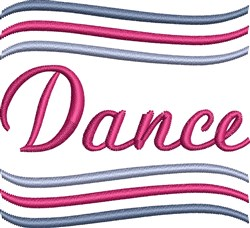 The Movemant Of Dance embroidery design