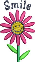 Cute Spring Daisy embroidery design